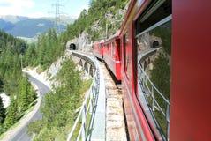 Bernina Express Train Stock Image
