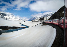 Bernina Express Royalty Free Stock Photography