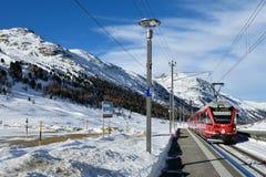 Bernina expresso Imagem de Stock Royalty Free
