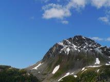 Bernina pass or Passo del Bernina in Switzerland Royalty Free Stock Image