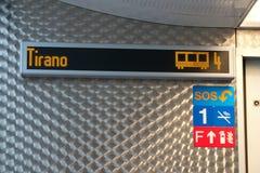 Bernina uttrycklig vagn Fotografering för Bildbyråer