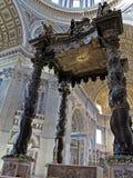Bernini's Baldacchino Στοκ Εικόνες