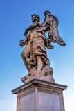 Bernini Angel Castel Ponte Sant Angelo Rome Italië Stock Afbeeldingen