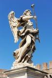 Bernini angel in Rome Stock Photos
