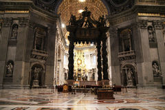 Bernini canopy Stock Image