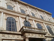 Bernini Palace, Rome. Renaissance architecture Royalty Free Stock Photography