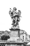 Bernini's Angel. Angel Bernini, Castel Sant'Angelo Rome Stock Photos