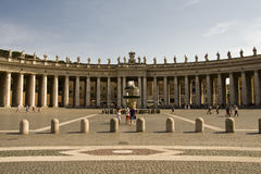 Bernini`s colonnade Royalty Free Stock Image