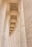 Bernini's colonnade in Piazza San Pietro Stock Photo