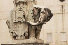 Bernini's Elephant Stock Image