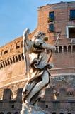 Bernini's marble statue of angel Royalty Free Stock Photos