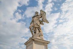 Bernini ` s marmurowa statua anioł obrazy stock