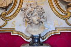 Bernini's Medusa in Rome. Italy. Royalty Free Stock Images