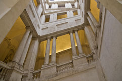 Bernini`s stairs at Palazzo Barberini Stock Photography