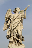Bernini's statue of angel Royalty Free Stock Photos