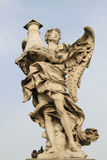 Bernini's statue of angel Royalty Free Stock Images