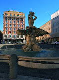 Bernini Square Royalty Free Stock Photography