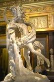 Bernini statua w Galleria Borghese Rzym Włochy obrazy stock