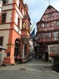 Bernkastel的德国镇中心 免版税图库摄影