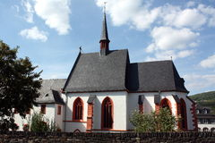 bernkastel kościół Moselle Obraz Royalty Free