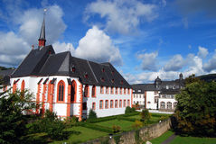 Bernkastel-Kues的,德国修道院 免版税图库摄影