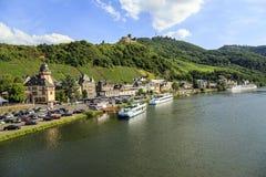 Bernkastel-Kues,德国。 库存图片