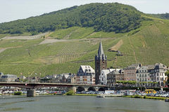 Bernkastel-Kues, German Wine royalty free stock photo