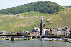 Bernkastel-Kues, Germany. Bernkastel-Kues located on the Mosel River in the heart of Germany wine growing country Royalty Free Stock Photos