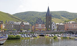 Bernkastel-Kues, Germany. Bernkastel-Kues on the Mosel River in the heart of Germany wine growing country Royalty Free Stock Images