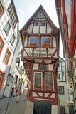 Bernkastel-Kues, het Smalle Huis van Duitsland Royalty-vrije Stock Afbeelding