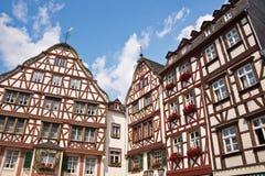Bernkastel-Kues, Mosel dolina, Niemcy Zdjęcie Royalty Free