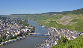 Bernkastel-Kues,Mosel River,germany Stock Photo