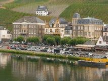 Bernkastel River Valley, Alemania Imagen de archivo