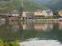 Bernkastel River Valley, Alemania Foto de archivo libre de regalías