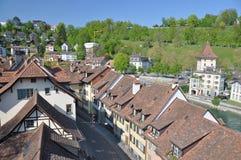 Bernstad, Schweiz Royaltyfri Fotografi