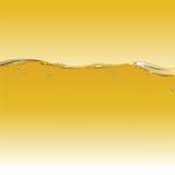 Bernsteinfarbiger Ton des Wassers Lizenzfreies Stockfoto