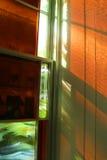 Bernsteinfarbiges Glühen lizenzfreie stockfotos