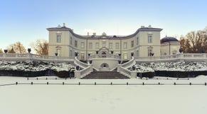 Bernsteinfarbiges Museum Litauen Palanga Stockfotografie