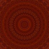 Bernsteinfarbiges Tropfenharz-Musterkaleidoskop ethnisch stock abbildung