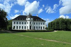 Bernstorff pałac obraz royalty free