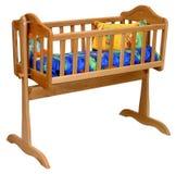 Berço do bebê Fotos de Stock Royalty Free
