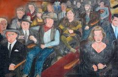 Beroemd bent u de Stermuurschildering royalty-vrije stock afbeelding