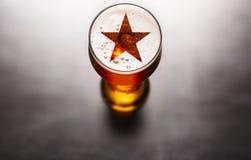 Beroemd bierconcept stock foto