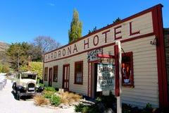 Beroemd Cardrona-Hotel Nieuw Zeeland Royalty-vrije Stock Fotografie