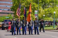 Beroemd Cinco de Mayo Parade stock foto