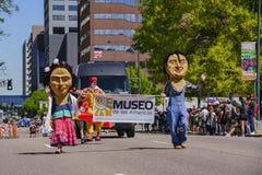 Beroemd Cinco de Mayo Parade royalty-vrije stock afbeelding