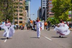 Beroemd Cinco de Mayo Parade royalty-vrije stock fotografie
