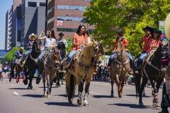 Beroemd Cinco de Mayo Parade stock afbeeldingen