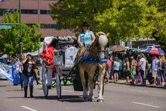 Beroemd Cinco de Mayo Parade stock fotografie