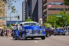 Beroemd Cinco de Mayo Parade royalty-vrije stock foto